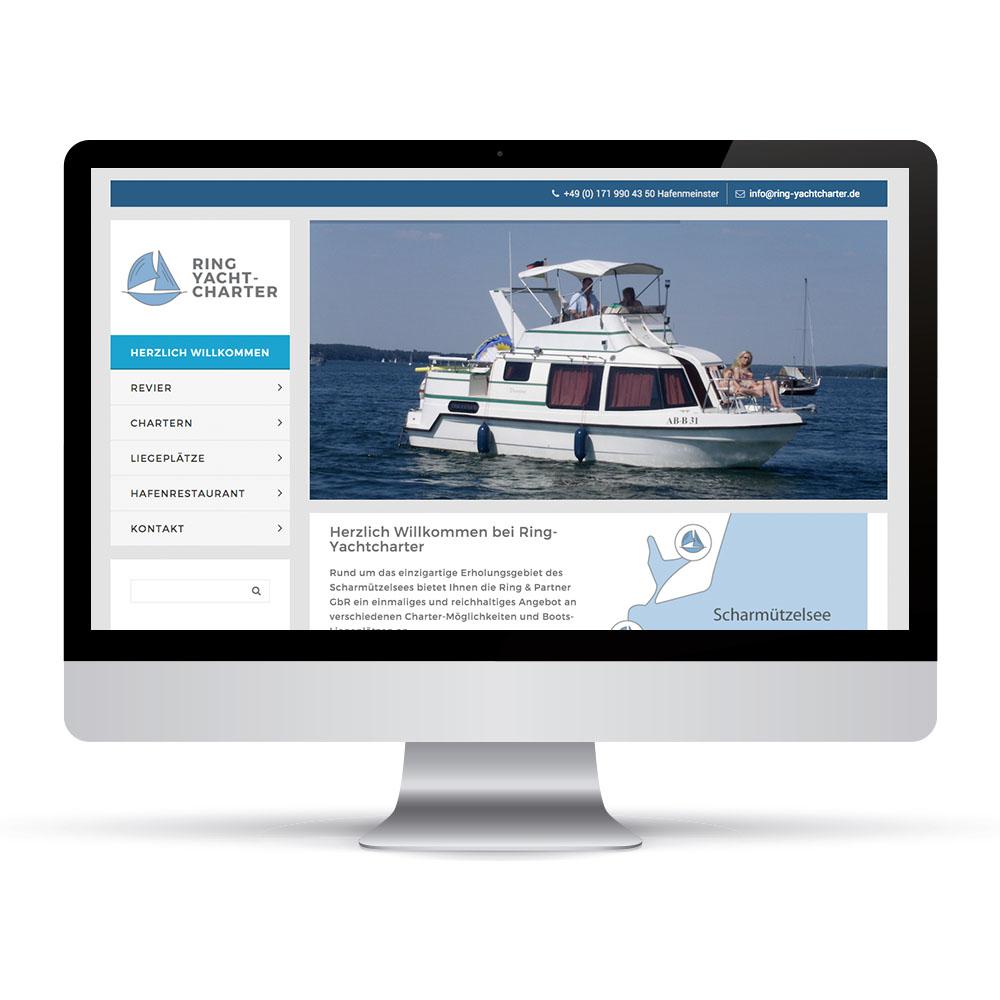 Ring Yachtcharter Screenshot